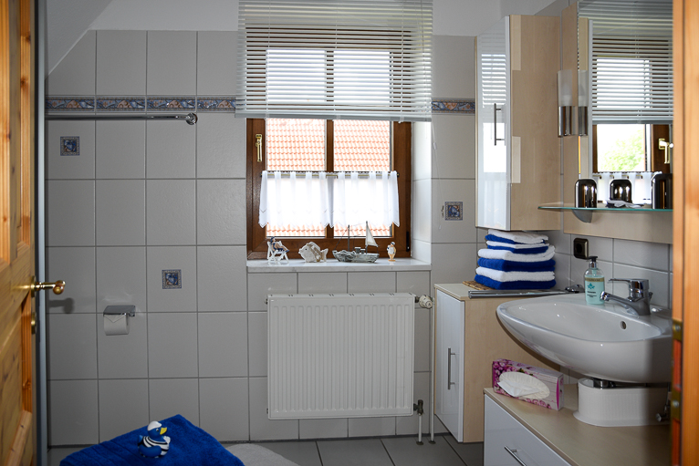 Badezimmer   Ferienhaus Henny