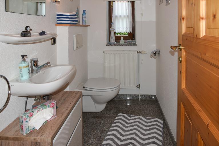 Gaeste WC | Ferienhaus Henny