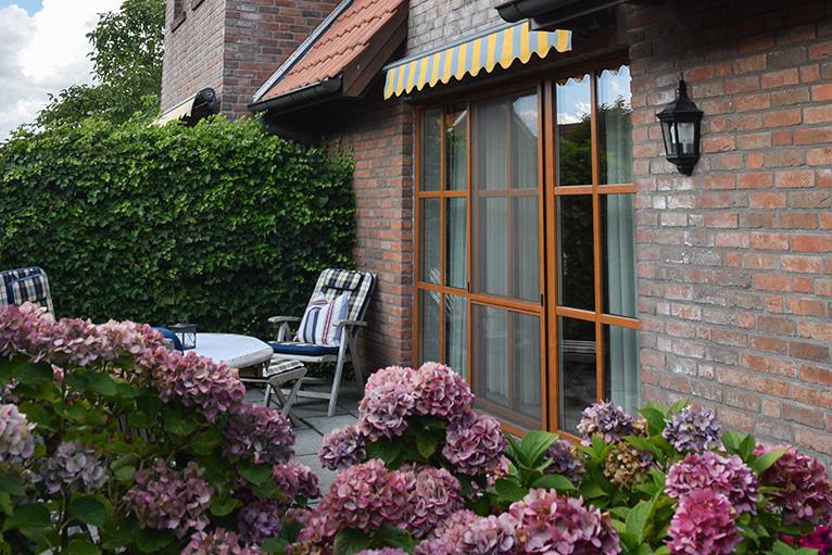 Terrasse | Ferienhaus Henny