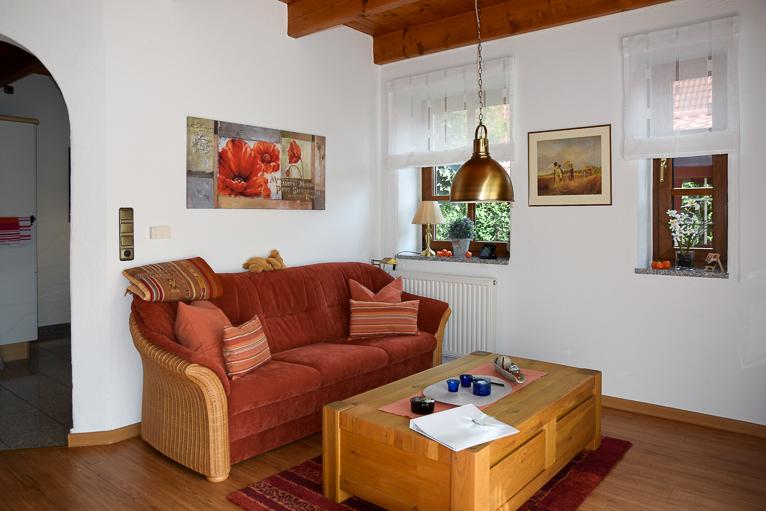 Wohnzimmer | Ferienhaus Henny